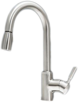 Blanco Faucet Cartridge : Blanco 441762 Single Lever Pull-Down Kitchen Faucet with 8 1/2 Inch ...