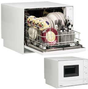 ... Countertop Dishwasher with Stainless Steel Interior & Low Water