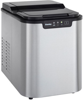 Danby DIM2500SSDB Countertop Ice Maker with 25 lbs. Daily ...