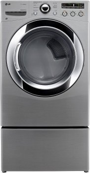 Lg Dlex3250v 27 Inch Front Load Electric Dryer With 7 3 Cu