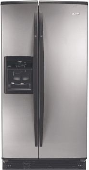 Whirlpool Gs6shexns 25 6 Cu Ft Conquest Side By Side