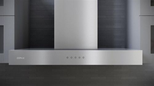 Zephyr Zrom90cs 36 Inch Wall Mount Chimney Range Hood With