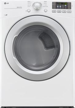 Lg Dle3170w 27 Inch 7 4 Cu Ft Electric Dryer With 8