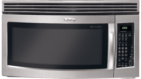Whirlpool Gh5184xps 1 8 Cu Ft Over The Range Microwave