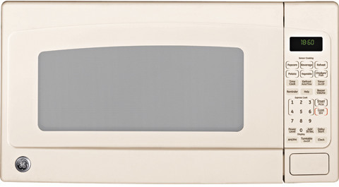 Countertop Microwave In Bisque Color : GE JEB1860DMCC 1.8 cu. ft. Countertop Microwave Oven with 1100 Cooking ...