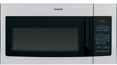 Hotpoint Rvm5160rhss 1 6 Cu Ft Over The Range Microwave