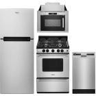 Whirlpool 4 Piece Kitchen Appliances Package WPRERADWMW8960