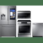 Samsung 4 Piece Kitchen Appliances Package SARERADWMW4229