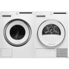 Asko Classic Series Side-by-Side on Pedestals Washer & Dryer Set ASWADREW2088