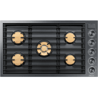 Dacor Modernist 36 Inch Smart Gas Cooktop DTG36M955FX