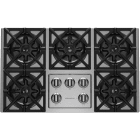 BlueStar 36 Inch Pro-Style Gas Cooktop RBCT365BSSV2