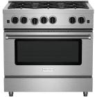 BlueStar Culinary Series 36 Inch Stainless Steel Gas Range RCS366BV2