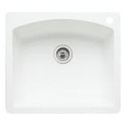 Blanco Diamond 25 Inch Drop-In/Undermount Single Bowl Granite Sink 440211