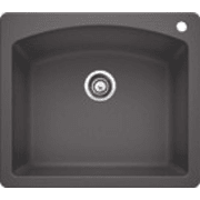 Blanco Diamond 25 Inch Drop-In/Undermount Single Bowl Granite Sink 441463