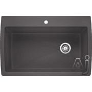 Blanco Diamond 33 Inch Drop-In/Undermount Single Bowl Granite Sink 441467