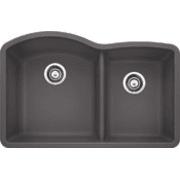 Blanco Diamond 32 Inch Undermount Double Bowl Granite Sink 441469