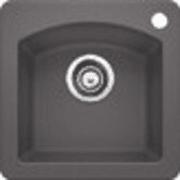 Blanco Diamond 15 Inch Drop-in/Undermount Single Bowl Granite Bar Sink 441477