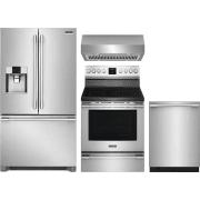 Frigidaire Professional Series 4 Piece Kitchen Appliances Package FRRERADWRH53