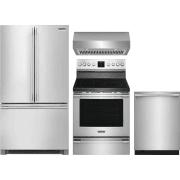 Frigidaire Professional Series 4 Piece Kitchen Appliances Package FRRERADWRH54