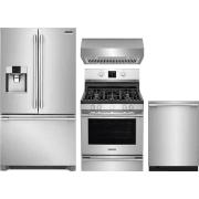 Frigidaire Professional Series 4 Piece Kitchen Appliances Package FRRERADWRH55