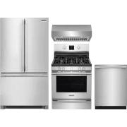 Frigidaire Professional Series 4 Piece Kitchen Appliances Package FRRERADWRH56