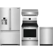 Frigidaire Professional Series 4 Piece Kitchen Appliances Package FRRERADWRH57