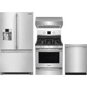 Frigidaire Professional Series 4 Piece Kitchen Appliances Package FRRERADWRH58