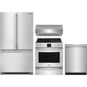 Frigidaire Professional Series 4 Piece Kitchen Appliances Package FRRERADWRH59