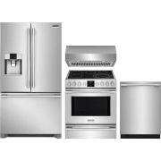 Frigidaire Professional Series 4 Piece Kitchen Appliances Package FRRERADWRH60