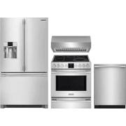 Frigidaire Professional Series 4 Piece Kitchen Appliances Package FRRERADWRH63