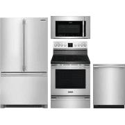 Frigidaire Professional Series 4 Piece Kitchen Appliances Package FRRERADWMW10549