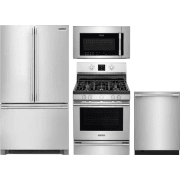 Frigidaire Professional Series 4 Piece Kitchen Appliances Package FRRERADWMW10550