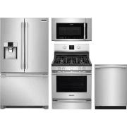 Frigidaire Professional Series 4 Piece Kitchen Appliances Package FRRERADWMW10551
