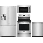 Frigidaire Professional Series 4 Piece Kitchen Appliances Package FRRERADWMW10552