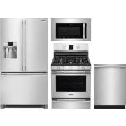 Frigidaire Professional Series 4 Piece Kitchen Appliances Package FRRERADWMW10553