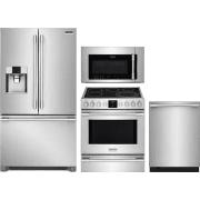 Frigidaire Professional Series 4 Piece Kitchen Appliances Package FRRERADWMW10554