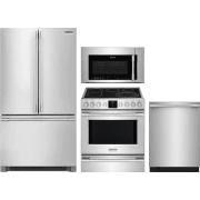 Frigidaire Professional Series 4 Piece Kitchen Appliances Package FRRERADWMW10555