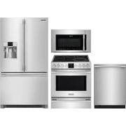 Frigidaire Professional Series 4 Piece Kitchen Appliances Package FRRERADWMW10558