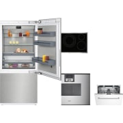 Gaggenau 400 Series 4 Piece Kitchen Appliances Package GARECTWODW168