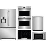 Frigidaire Professional Series 5 Piece Kitchen Appliances Package FRRECTWODWMW7
