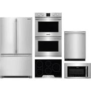 Frigidaire Professional Series 5 Piece Kitchen Appliances Package FRRECTWODWMW8