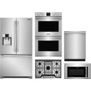 Frigidaire Professional Series 5 Piece Kitchen Appliances Package FRRECTWODWMW12