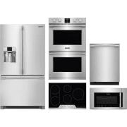 Frigidaire Professional Series 5 Piece Kitchen Appliances Package FRRECTWODWMW13