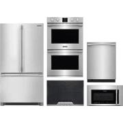 Frigidaire Professional Series 5 Piece Kitchen Appliances Package FRRECTWODWMW16