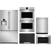 Frigidaire Professional Series 5 Piece Kitchen Appliances Package FRRECTWODWMW17