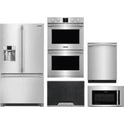 Frigidaire Professional Series 5 Piece Kitchen Appliances Package FRRECTWODWMW18