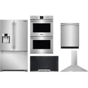 Frigidaire Professional Series 5 Piece Kitchen Appliances Package FRRECTWODWMW23