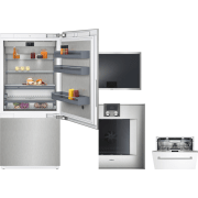 Gaggenau 400 Series 4 Piece Kitchen Appliances Package GARECTWODW239