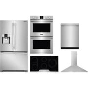 Frigidaire Professional Series 5 Piece Kitchen Appliances Package FRRECTWODWMW124