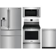 Frigidaire Professional Series 4 Piece Kitchen Appliances Package FRRERADWMW4152
